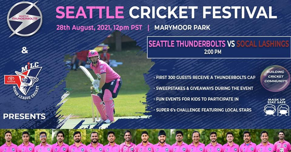 Seattle Cricket Day